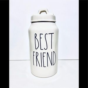 Rae Dunn BEST FRIEND CERAMIC treat canister NEW